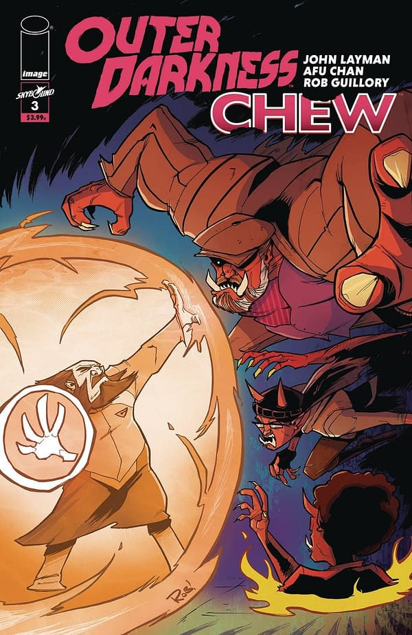 Outer Darkness/Chew #3 Cover B