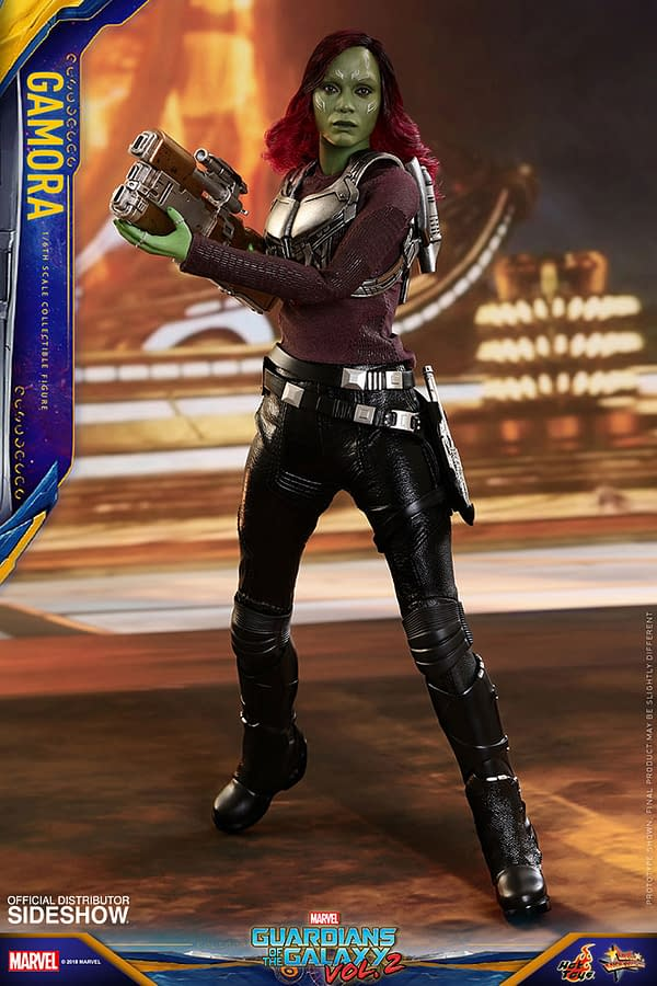 Hot Toys Guardians Vol. 2 Gamora 4