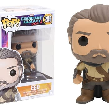 An image of the Guardians Galaxy 2 Ego Boxed Funko figure