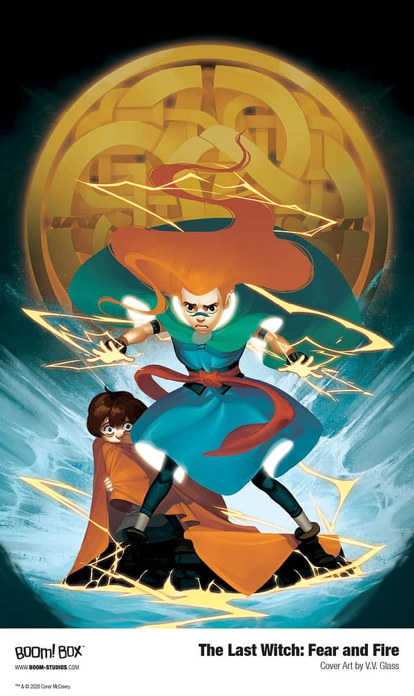 Conor McCreery and V.V. Glass Bring New OGN The Last Witch: Fear and Fire to BOOM! in December