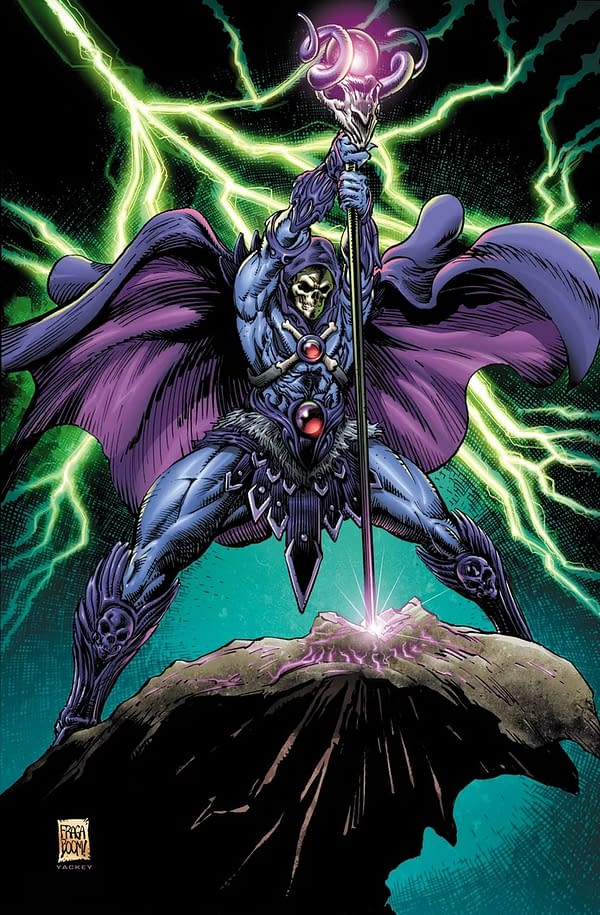 Tim Seeley, Dan Fraga Take He-Man to the Multiverse in November