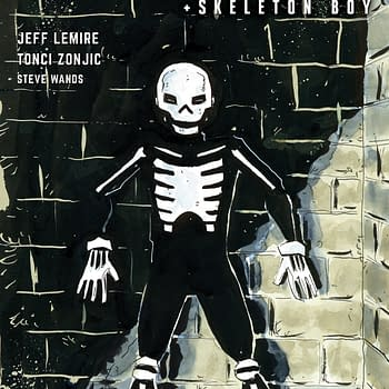 For FOC, Here's Jeff Lemire's Variant Cover for Skulldigger & Skeleton Boy #1