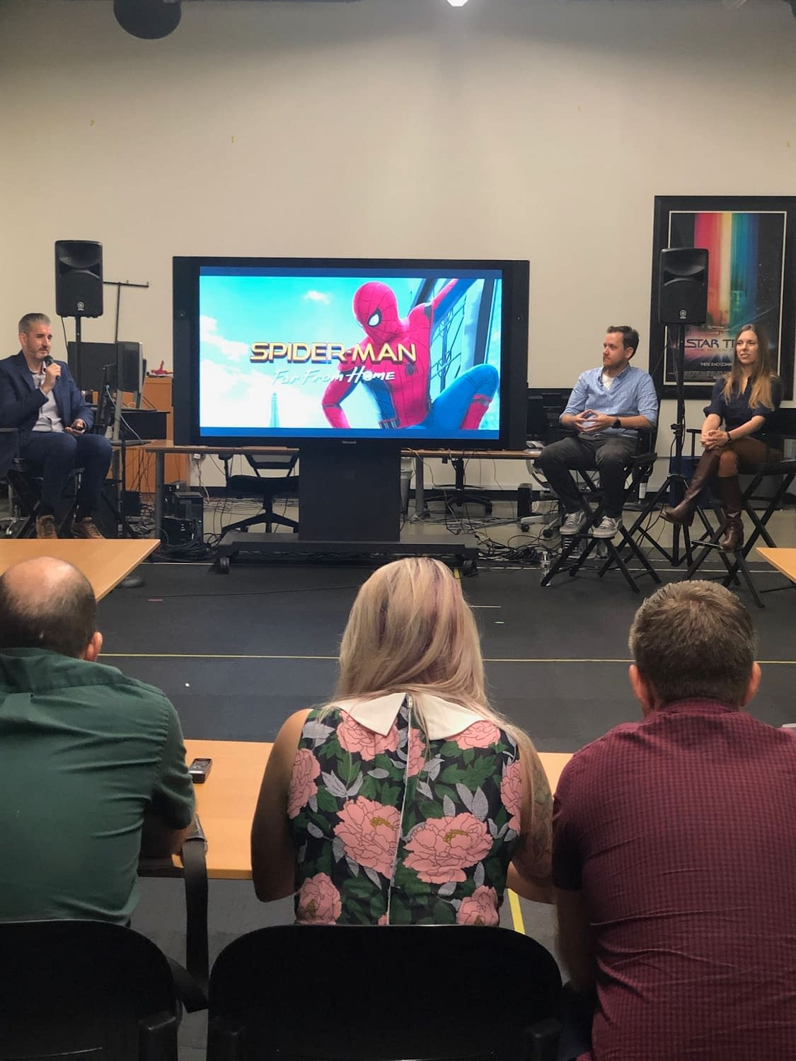 """Spider-Man: Far From Home"": Exploring the Visual Effects at Third Floor Studio"