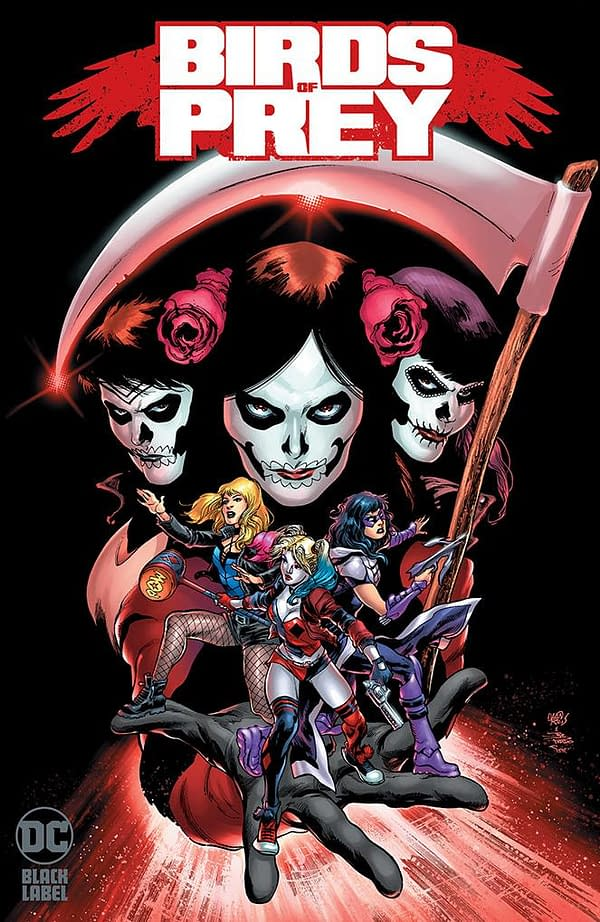 DC Comics Cancels Orders for Brian Azzarello's Birds Of Prey, Will Resolicit as Black Label