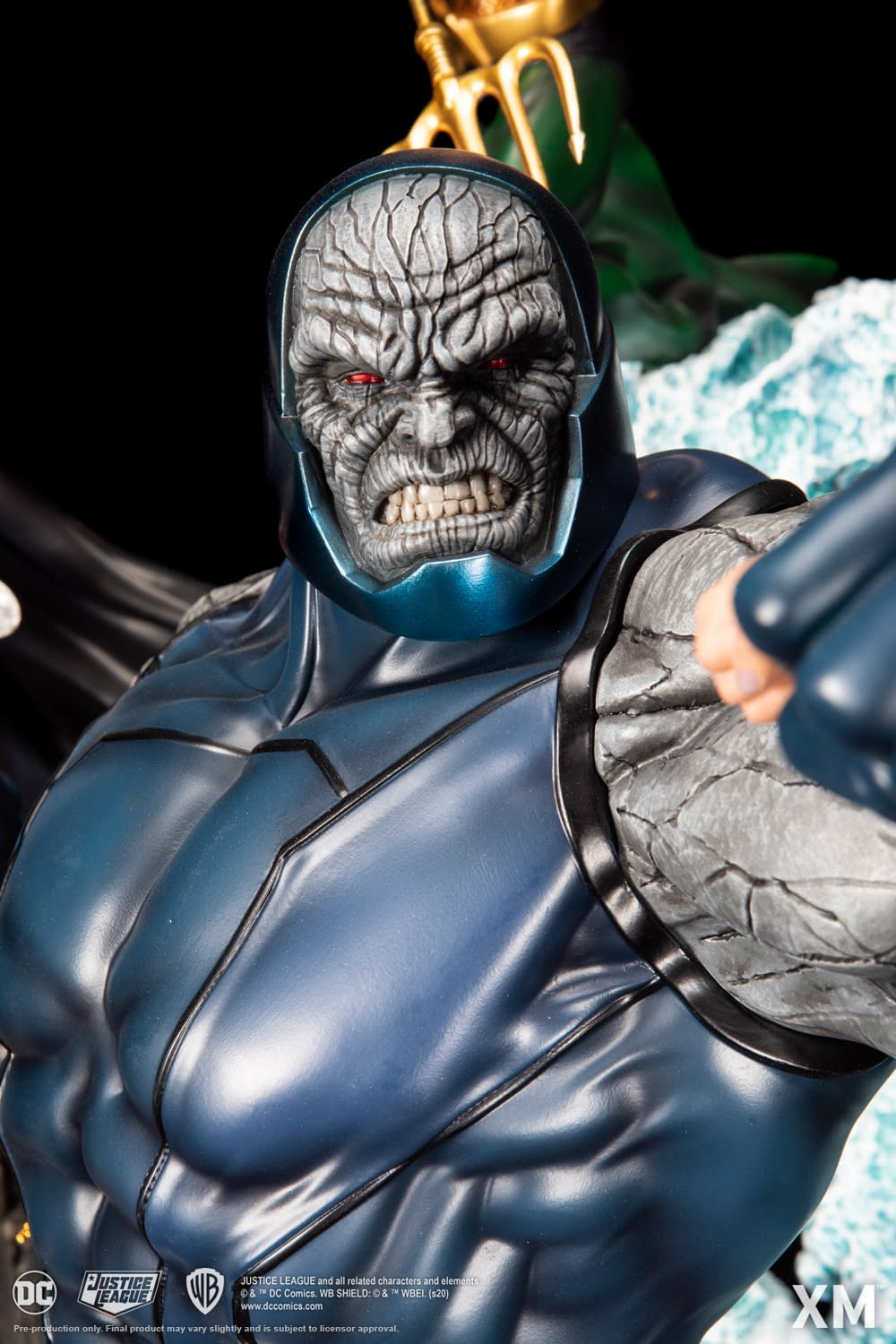 The Justice League Take on Darkseid in Massive Statue from XM Studios