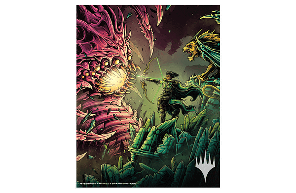 """The art print being offered through Wizards of the Coast's """"Love Your Local Game Store"""" program for Magic: The Gathering."""