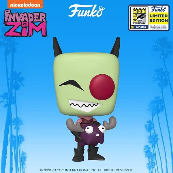 Funko SDCC 2020 Reveals - TMNT, Samurai Jack, and Invader Zim