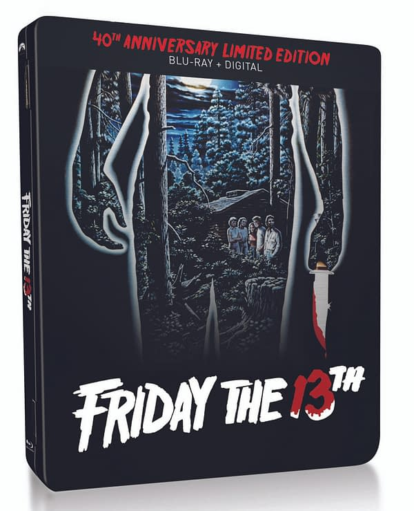 Friday The 13th Steelbook release. Credit Paramount