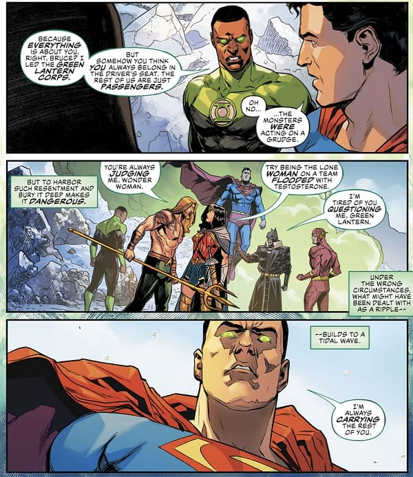 How The Justice League Really Despise Each Other (Spoilers).
