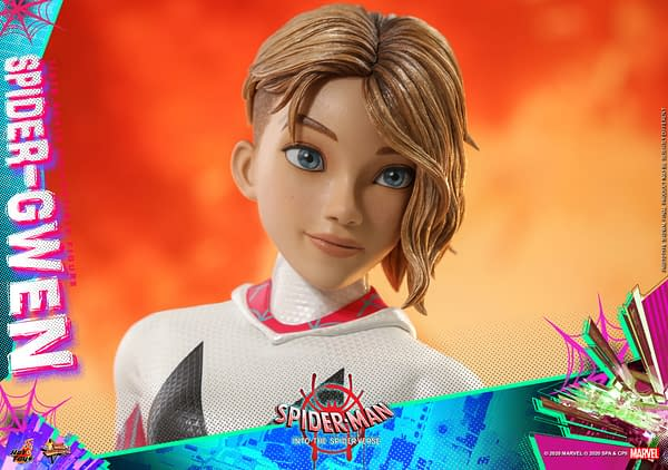 Spider-Gwen Hot Toys Into the Spider-Verse Figure