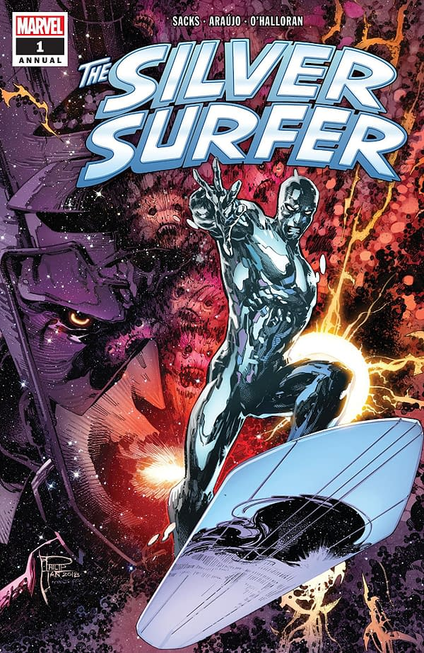 Silver Surfer Annual #1 cover by Philip Tan