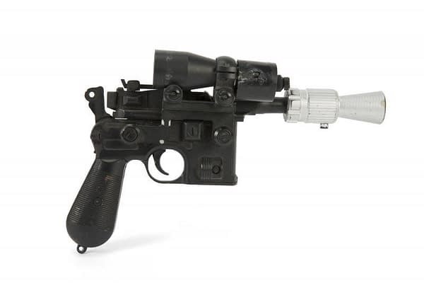 Han Solo's 'Return of the Jedi' Blaster Just Sold for $550k