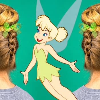 Need a Fresh Summer Do Sass It Up with a Tinkerbell-Style Bun [Tutorial]
