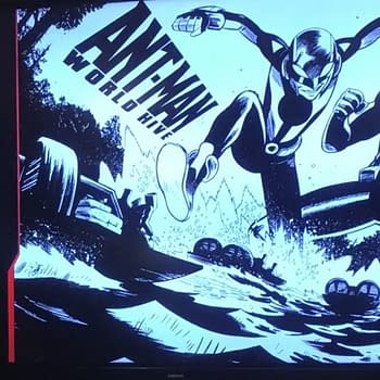 Marvel Announces Ant-Man: World Hive by Zeb Wells and Dylan Burnett at MCM London
