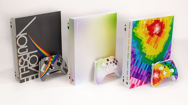 Each Xbox comes with its own special theme, courtesy of Microsoft.