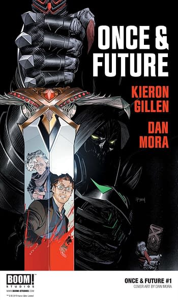 Industry Shocker: BOOM! to Sell Once & Future Comics to Readers