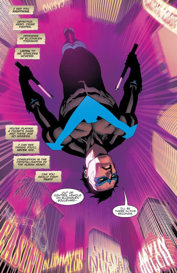 Nightwing #35 art by Bernard Chang and Marcelo Maiolo