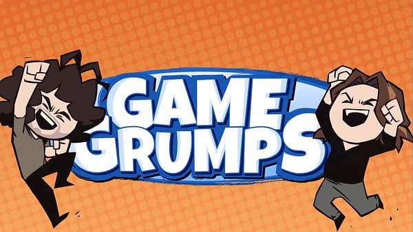 The opening title from Game Grumps on YouTube.