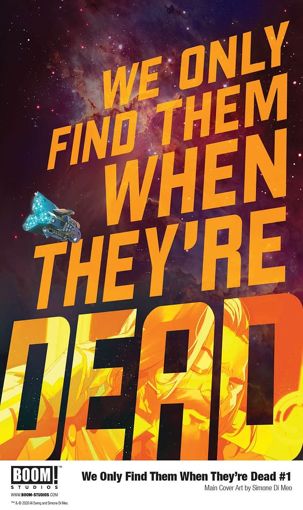 We Only Find Them When They're Dead from Al Ewing and Simone Di Meo.