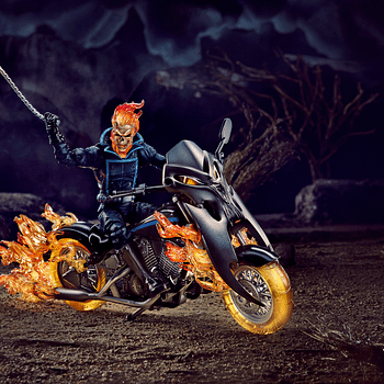 Marvel Legends 6-Inch Ghost Rider & Motorcycle