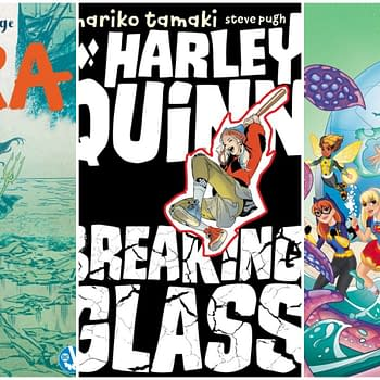 Solicits for DC Ink and Zoom Titles Mera Harley Quinn: Breaking Glass and DC Super Hero Girls: Search for Atlantis