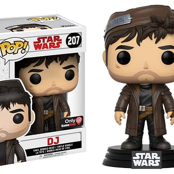 Funko The Last Jedi Pop DJ Gamestop