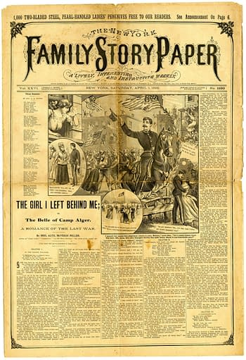 Family Story Paper No. 1330, April 1, 1899, published by Norman L. Munro.