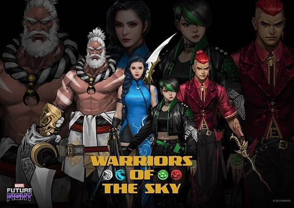 """Netmarble Adds Original Characters Into """"Marvel Future Fight"""""""