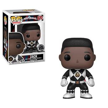 Funko Mighty Morphin Power Rangers Black Ranger Pop
