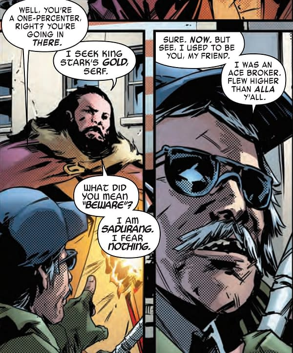 Capitalism and Kryptonite in Tony Stark: Iron Man #13 (Preview)