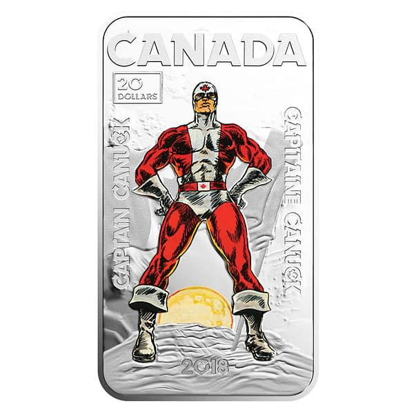 Captain Canuck Crosses Over with Canadian Money in Rare Coin from the Royal Canadian Mint