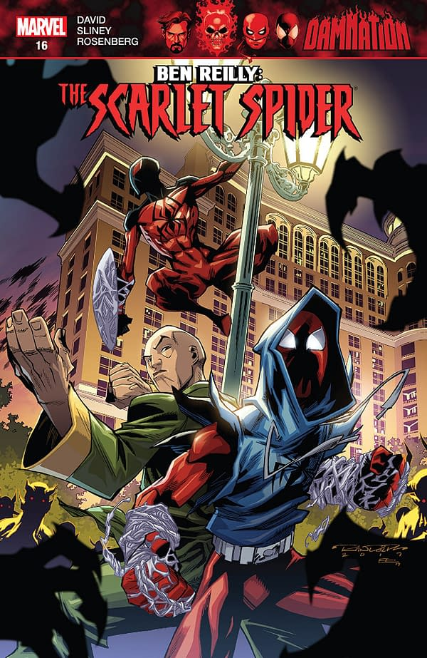 Ben Reilly: Scarlet Spider #12 cover by Khary Randolph