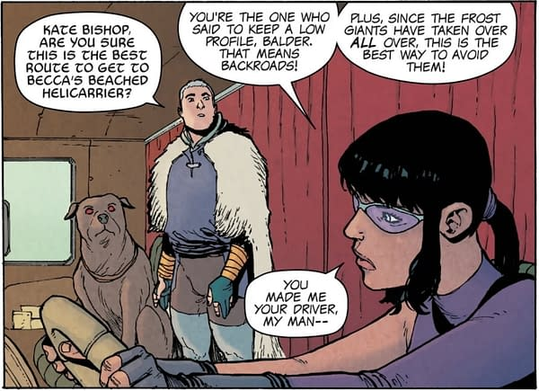 Nobody Tells Thori Where to Poop - War of the Realms: Journey Into Mystery #3 Preview