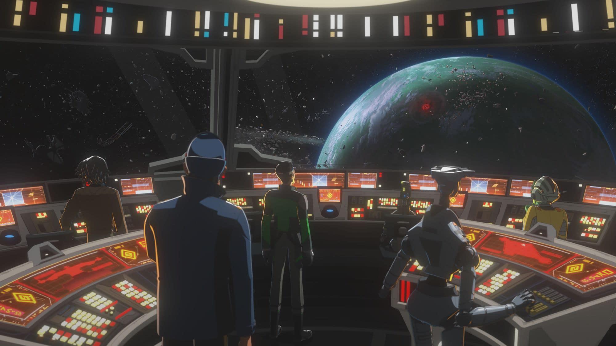 "STAR WARS RESISTANCE - ""A Quick Salvage Run"" - Disney Channel"