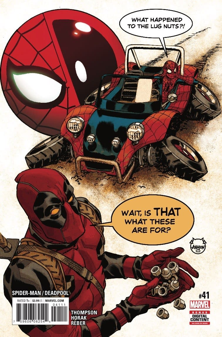 Mapping Out a Road Trip for Next Week's Spider-Man/Deadpool #41