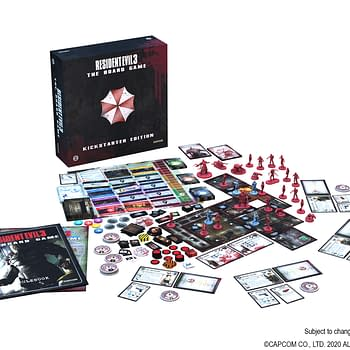Resident Evil 3 The Board Game Display