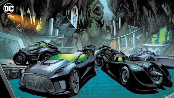 The Batcave Virtual Background