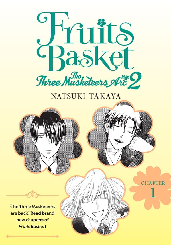 The Fruits Basket The Three Musketeers Arc 2 Cover by Yen Press.