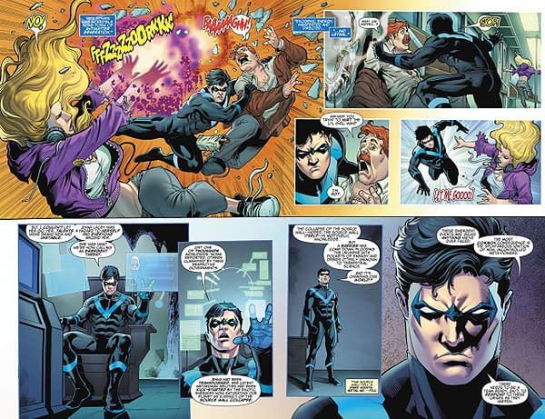 Titans Special #1 art by Sergio Davila, Vicente Cifuentes, and Luis Guerrero