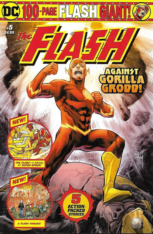 The Flash Volume 2 #5 Cover