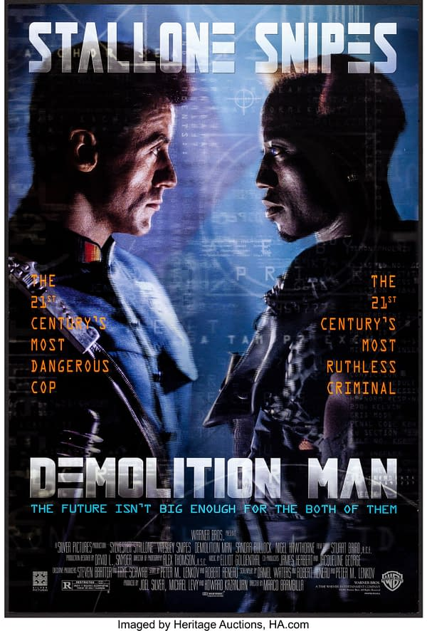 A sequel to Demolition Man could be happening.