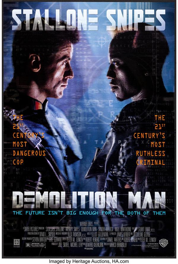 Une suite à Demolition Man pourrait se produire.