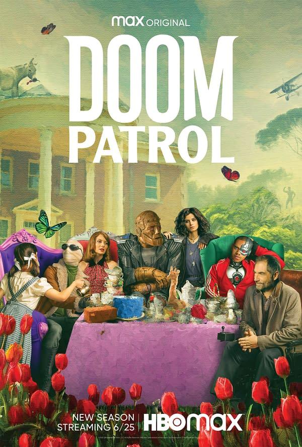 A look at the season poster for Doom Patrol season 2, courtesy of HBO Max.