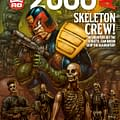 Preview This Weeks 2000AD &#8211 Judge Dredd Outlier Indigo Prime Thargs 3Rillers And Slaine