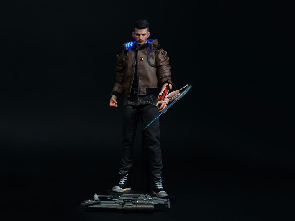 """""""Cyberpunk 2077"""" Gets It's First 1/6th Scale Figure From Pure Arts"""