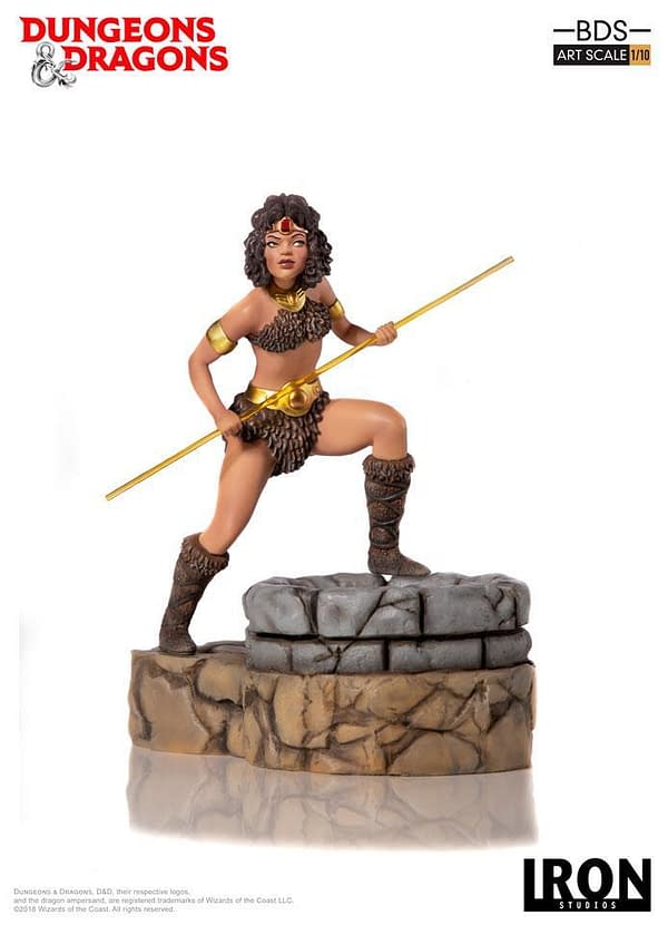 Dungeons and Dragons Cartoon Diana Statue