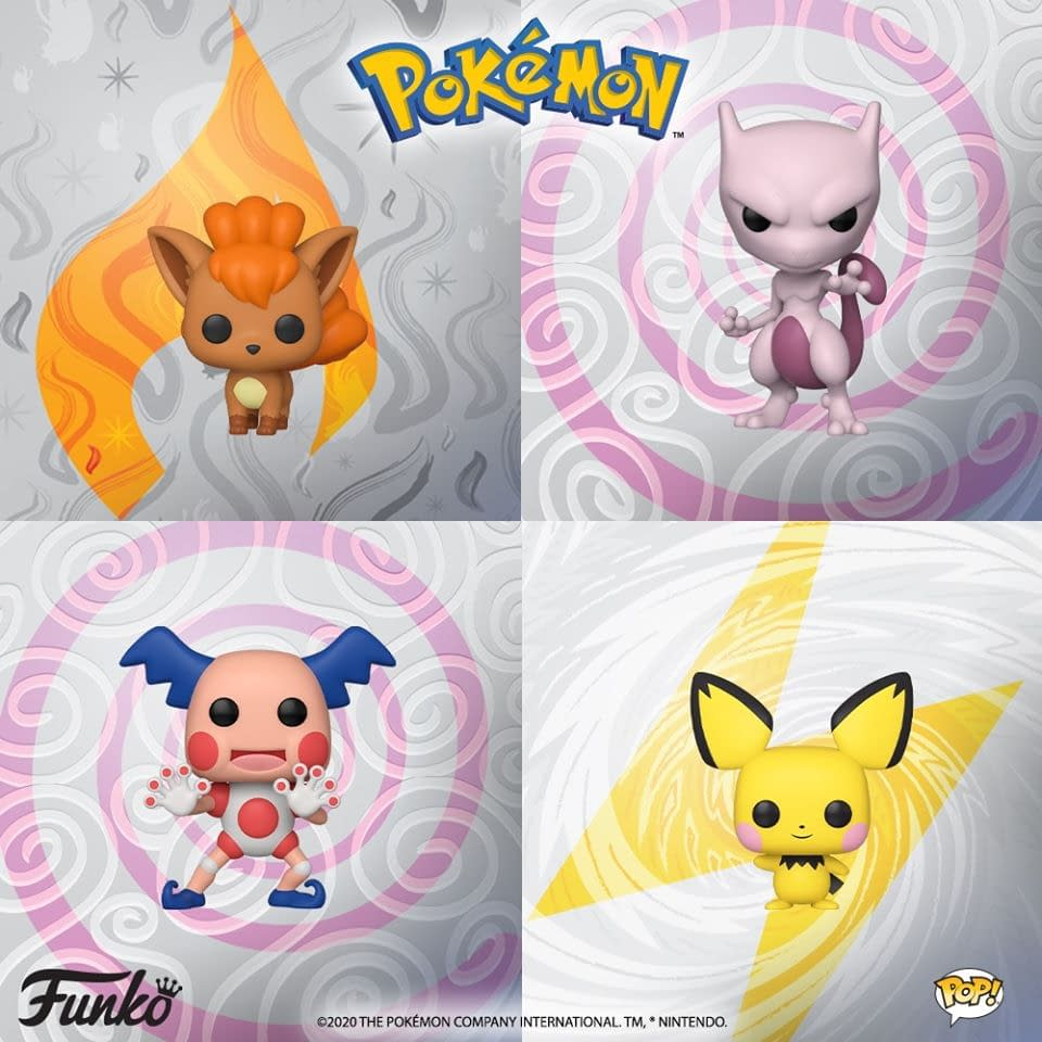 Funko Announces Four New Pokemon Pop Vinyl Figures