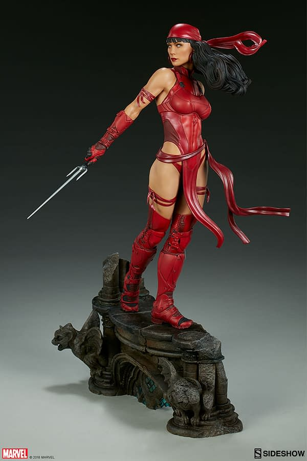 Sideshow Collectible Premium Format Figure Elektra 7