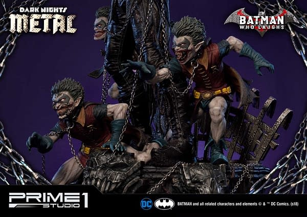 Dark Knights Metal Batman Who Laughs Prime 1 Studio Statue 7