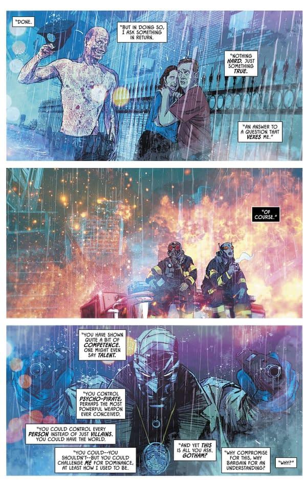 Hush Returns to Batman with Tom King, John Romita Jr and Klaus Janson?